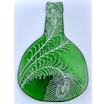 Feathers - Green - Back of bottle