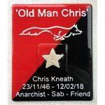 Memorial Plaque containing ashes